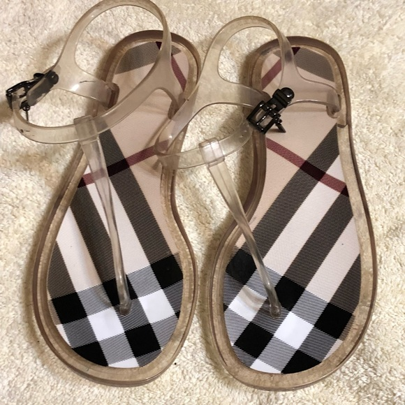 313a0771b56d67 Burberry Shoes - Burberry Jelly Sandal